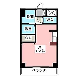 Avanti YASHIRODAI[1階]の間取り