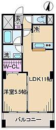 La・Sakuras[7階]の間取り