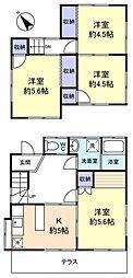[一戸建] 千葉県船橋市新高根3丁目 の賃貸【/】の間取り