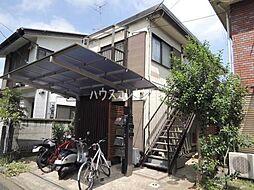 東京都世田谷区祖師谷5丁目の賃貸アパートの外観