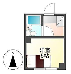 ライオンズ名古屋ビル[4階]の間取り