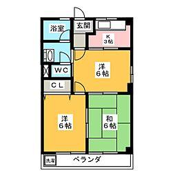 アーバンヒルズT1[1階]の間取り