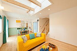 モデルハウス:屋上庭園のある家