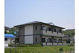 愛知県岡崎市岩津町字西坂の賃貸アパートの外観
