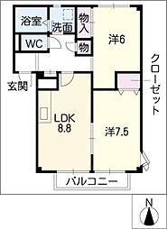 スラローム[1階]の間取り