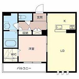 LA SUITE SAKAIHIGASHI[2階]の間取り