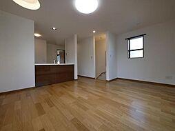 杉並区和泉2丁目 北東角地に暮らし易さに拘った邸が誕生 3LDKの居間