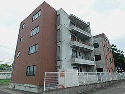 山梨県甲府市徳行3丁目の賃貸マンションの外観