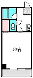 大阪府守口市大日東町の賃貸マンションの間取り