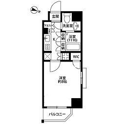 プレール・ドゥーク板橋本町[8階]の間取り