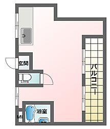 コーポ・ダイワ[3階]の間取り