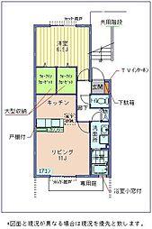 美咲ヶ丘SaKuRa2008[206号室 号室]の間取り
