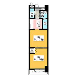 コアレジデンス[4階]の間取り