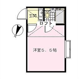 洗足池駅 5.1万円