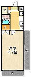 グレイスガーデン京都[305号室]の間取り