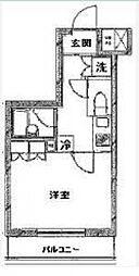 ルーブル小竹向原弐番館[2階]の間取り