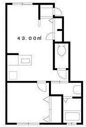 S・フラッツ[1階]の間取り