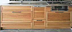 〜キッチンプラン例〜システムキッチン設置(同一タイプ)工事費90万円(価格に含みません)