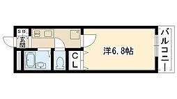 ジュブリーユ 翔[103号室]の間取り