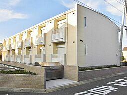 埼玉県吉川市吉川の賃貸アパートの外観