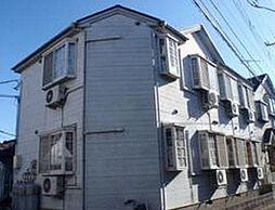 東京都足立区青井2丁目の賃貸アパートの外観