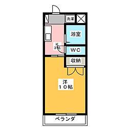 メゾンおおたけ2[2階]の間取り