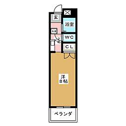 サンクレスト六番[2階]の間取り