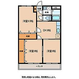 ワイズハウス[1階]の間取り