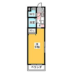 Hepta house[3階]の間取り