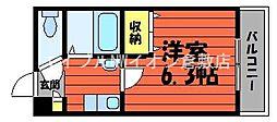 岡山県倉敷市大島丁目なしの賃貸マンションの間取り