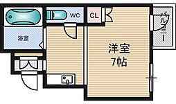 コモド田口[5階]の間取り