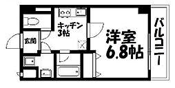 ローズステージ泉大津駅前[407号室]の間取り