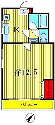 プランタン・ジュール[3階]の間取り