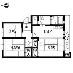 六地蔵駅 5.3万円