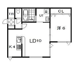 仮)6−22新築[102号室]の間取り