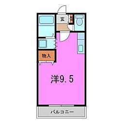 緑区 ミレニアムK[0101号室]の間取り