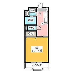 ヴォヤージュHII[1階]の間取り