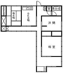 [一戸建] 宮崎県延岡市富美山町 の賃貸【/】の間取り