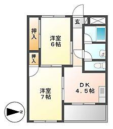 第2三鈴ビル[1階]の間取り