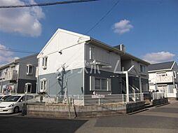 兵庫県神戸市須磨区南落合1丁目の賃貸アパートの外観