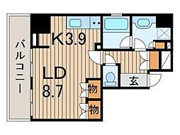ラ・ルミエール[5階]の間取り