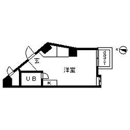 TOP・不動前[0612号室]の間取り