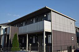 東京都日野市石田1丁目の賃貸アパートの外観