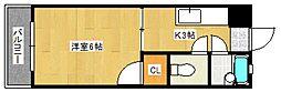 ステーションビルII[2階]の間取り