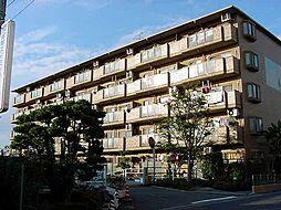 京都府城陽市平川茶屋裏の賃貸マンションの外観