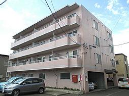 北海道札幌市東区北三十一条東13丁目の賃貸マンションの外観