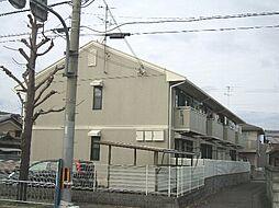 京都府京都市西京区下津林水掛町の賃貸アパートの外観