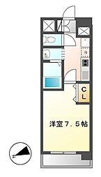 ASレジデンス千代田[7階]の間取り