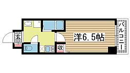 ISOGAMI EAST[8階]の間取り