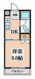 吉田コーポ[2階]の間取り